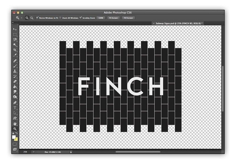 Finch T-Shirt Design Photoshop File