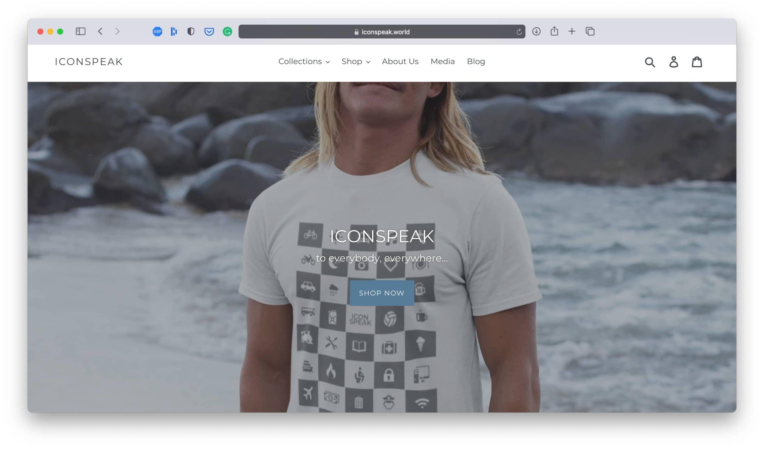 IconSpeak T-Shirt Business