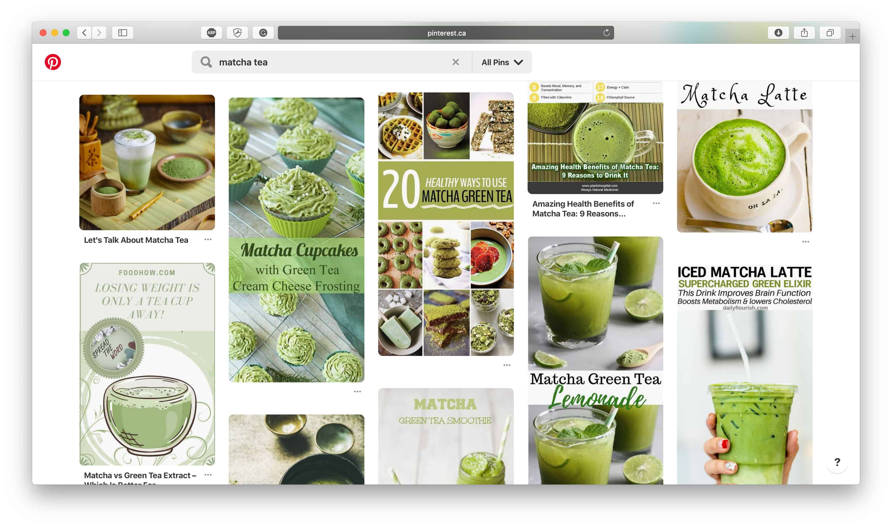 Matcha Tea Pinterest