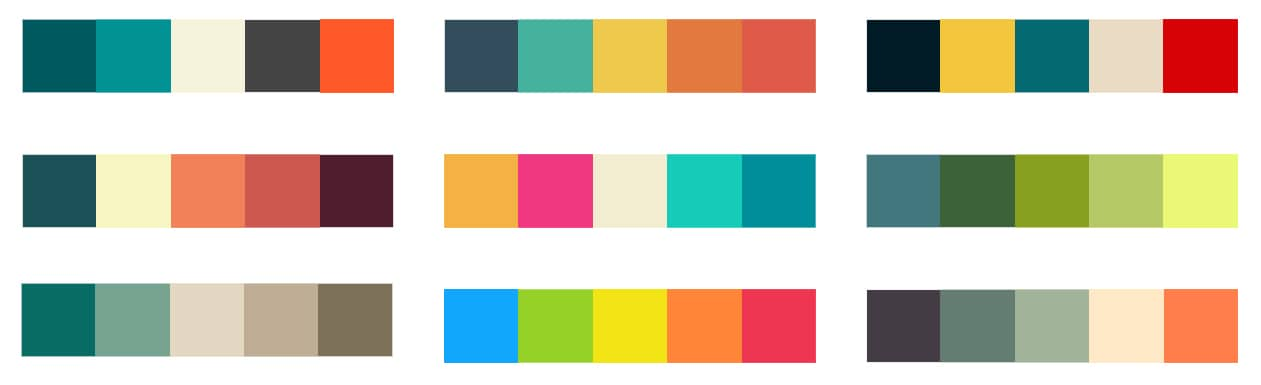 Branding Color Pallet