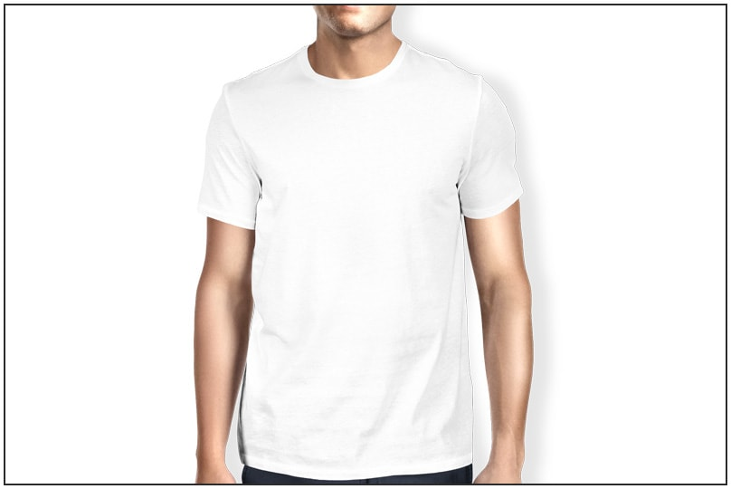 The best t shirt templates clothing mockup generators for White t shirt mockup