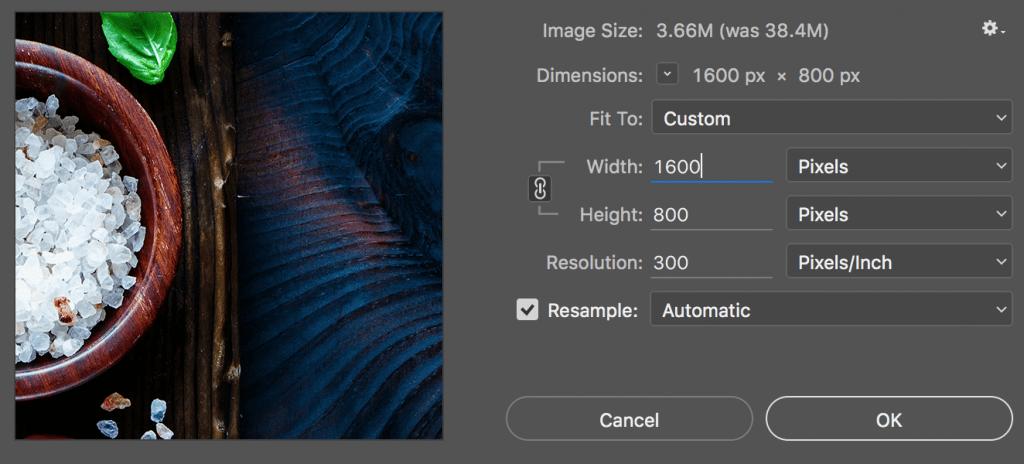 Reducing Image Size