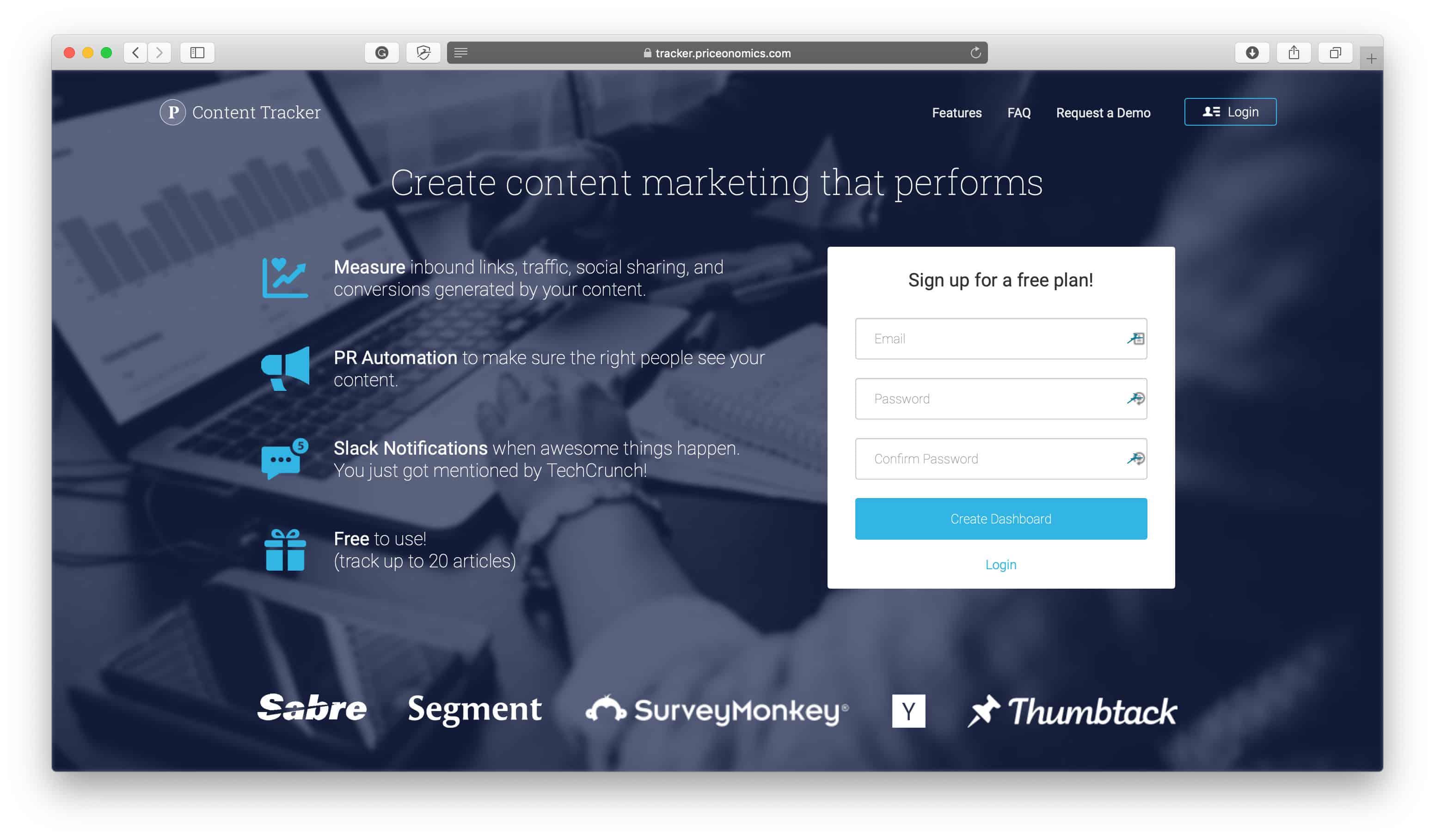 ContentTracker Slack Integration