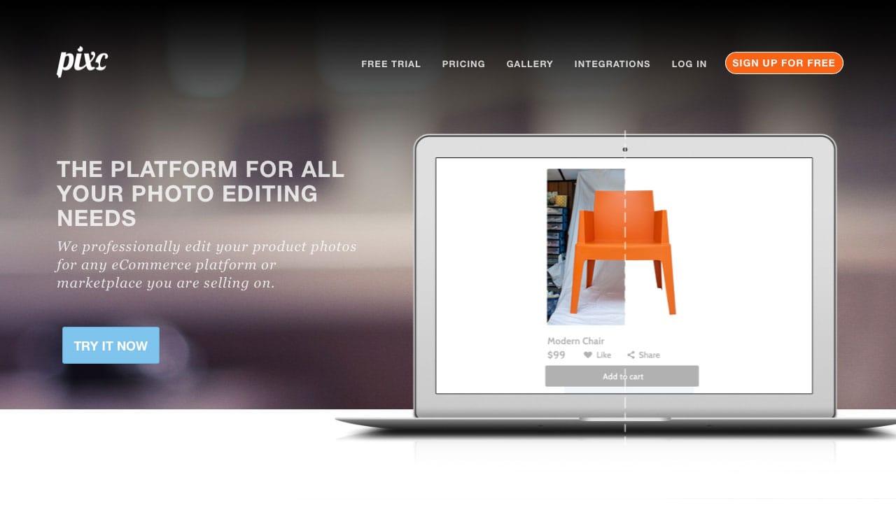 Pixc Homepage