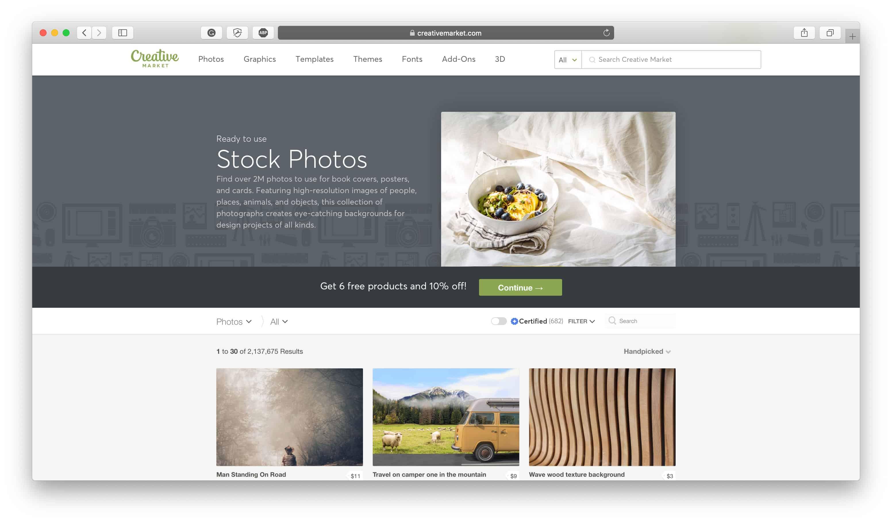 Creative Market Design Assets Review