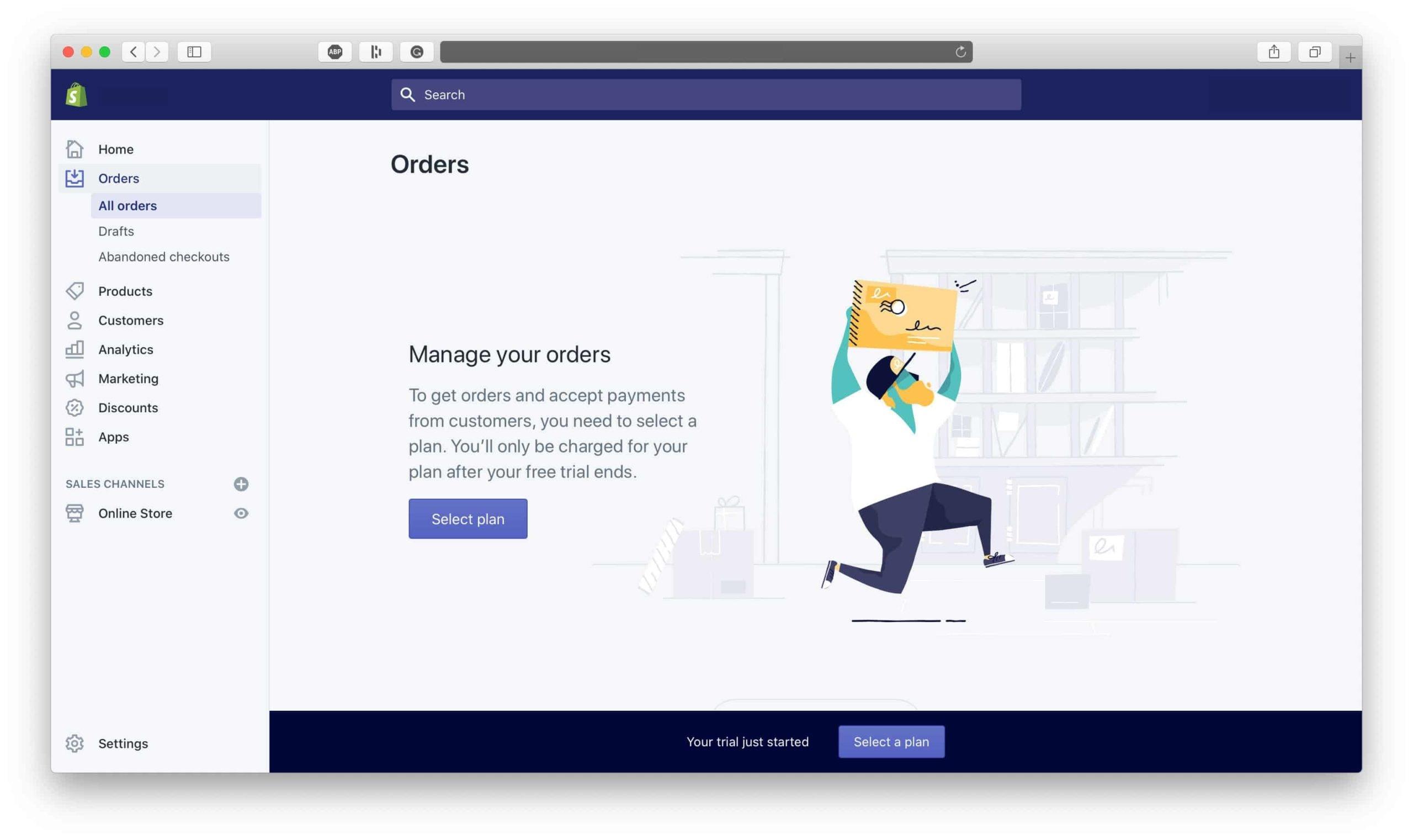 Shopify Orders Dashboard