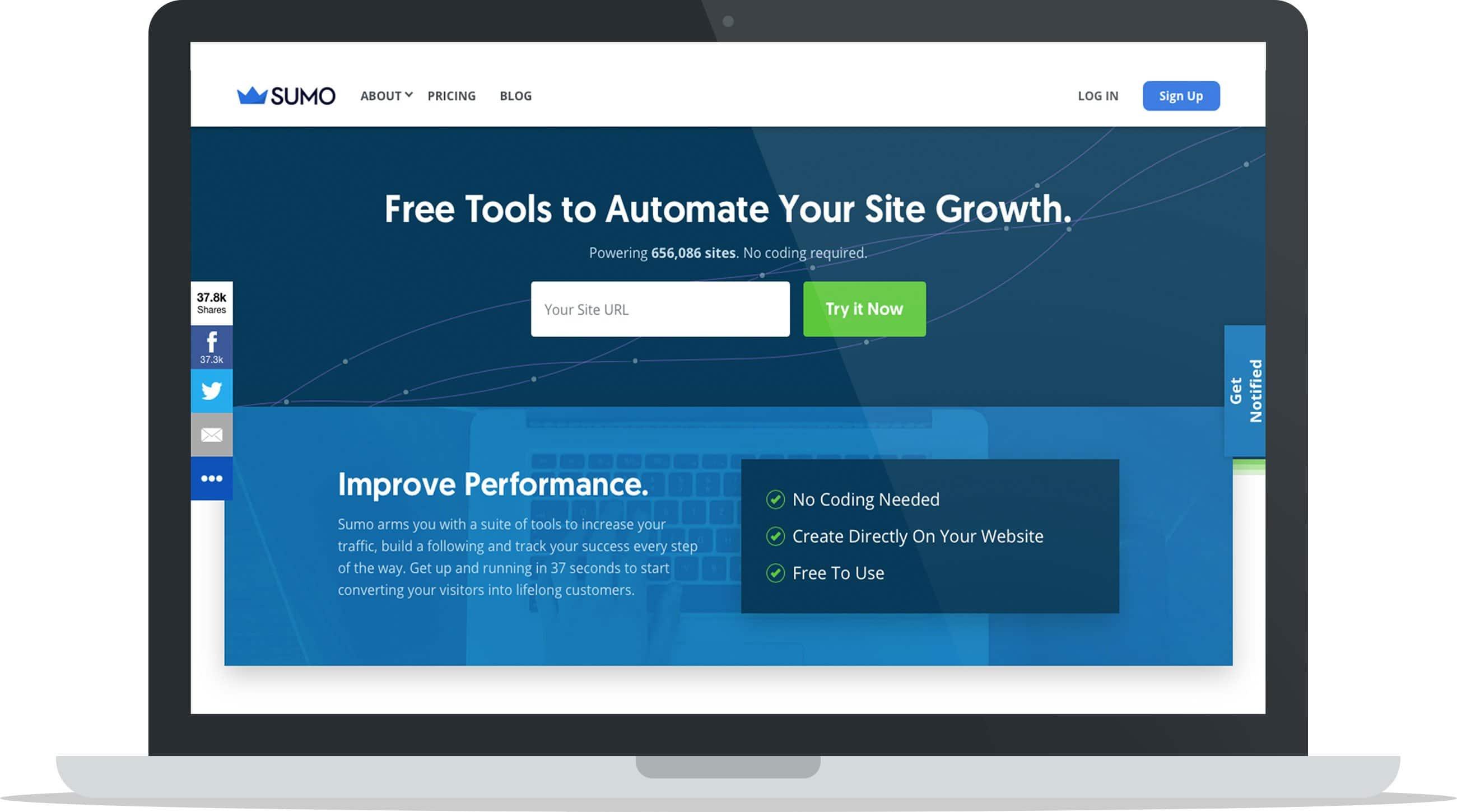 Sumo Homepage