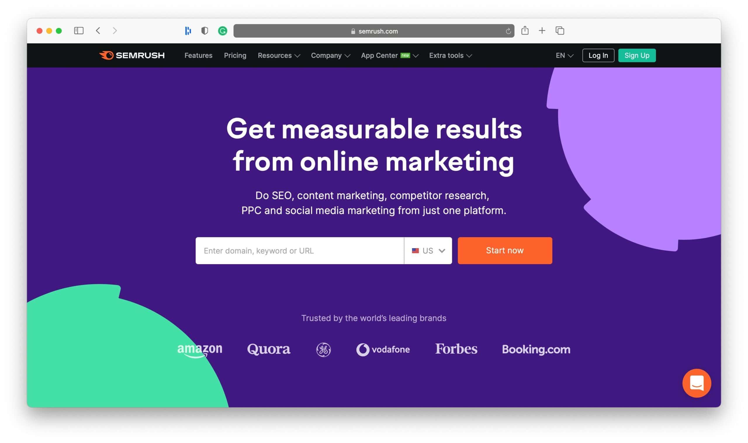 SEMrush Review for Websites
