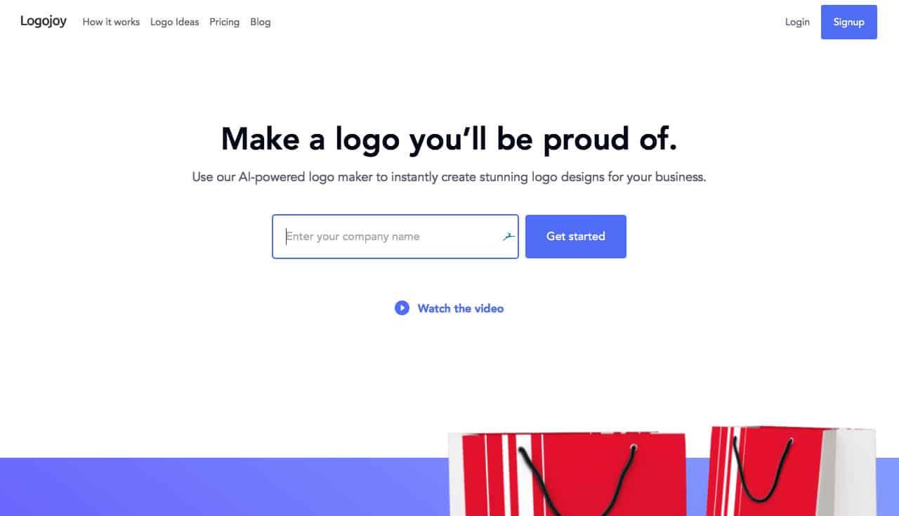 Make a Company Logo with Logojoy