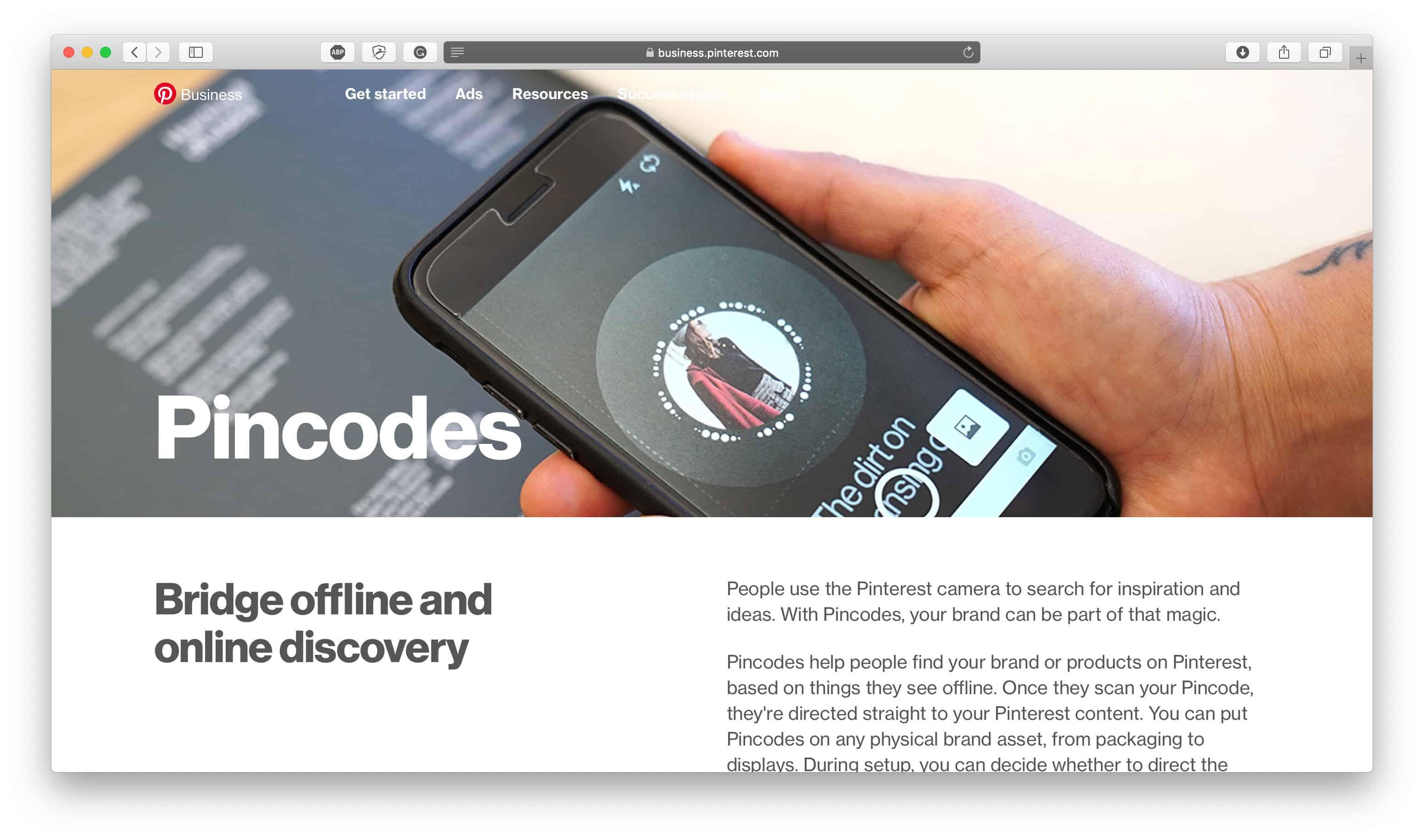 Pinterest Pincodes