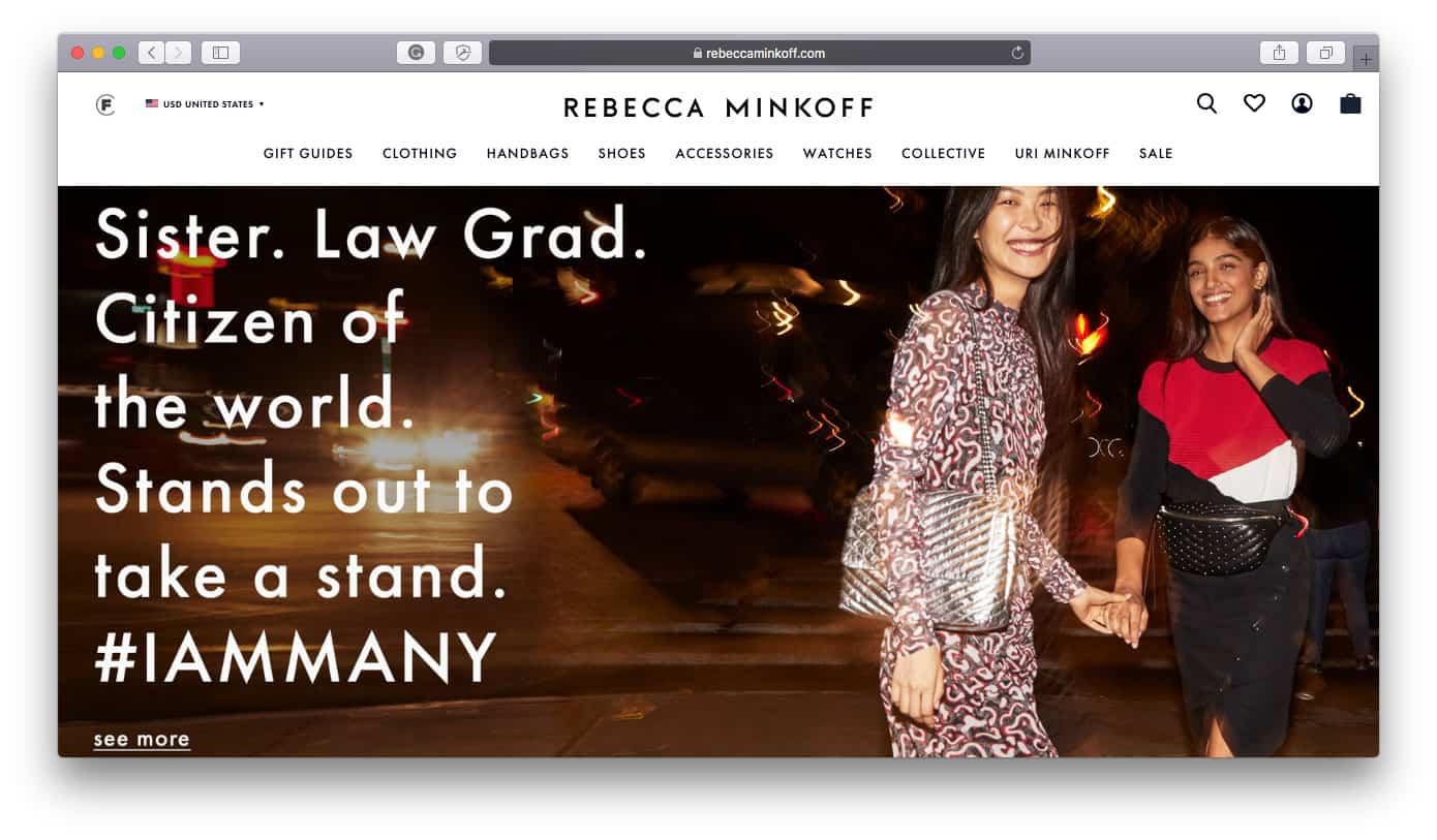 Rebecca Minkoff Shopify Stores