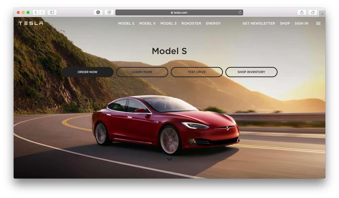 Tesla Shopify Stores