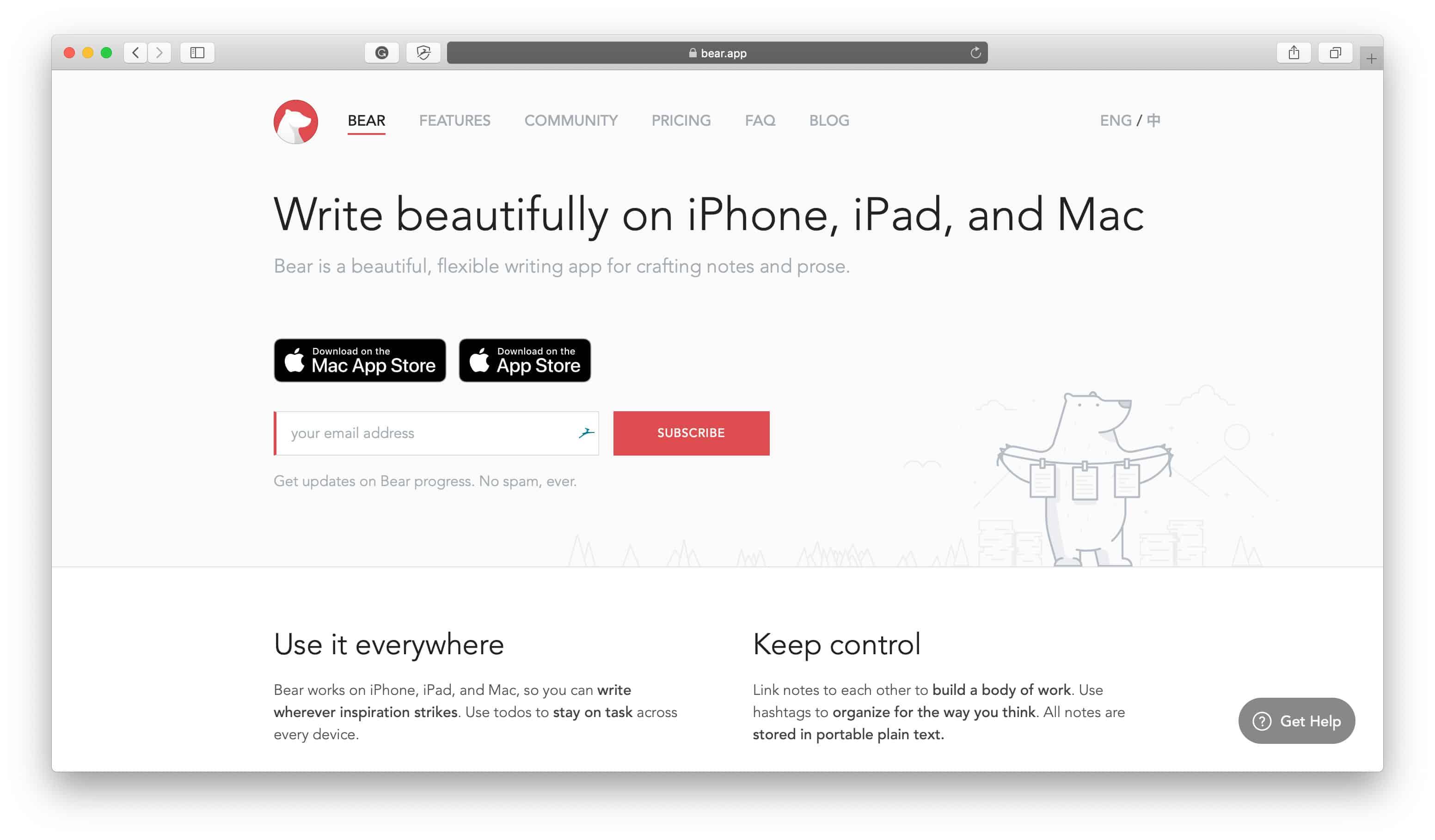 Bear Popular Apps