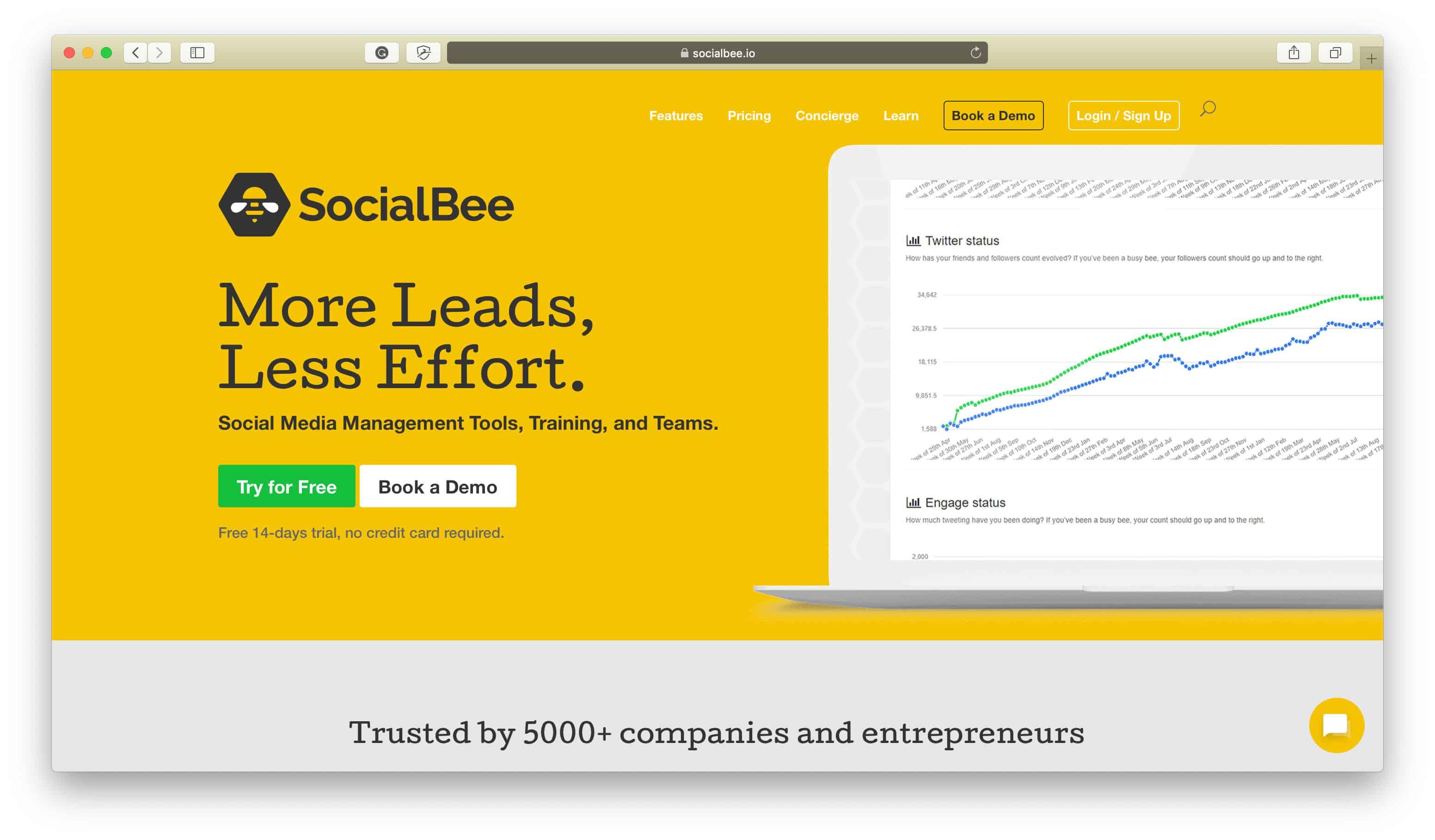 SocialBee Popular Apps