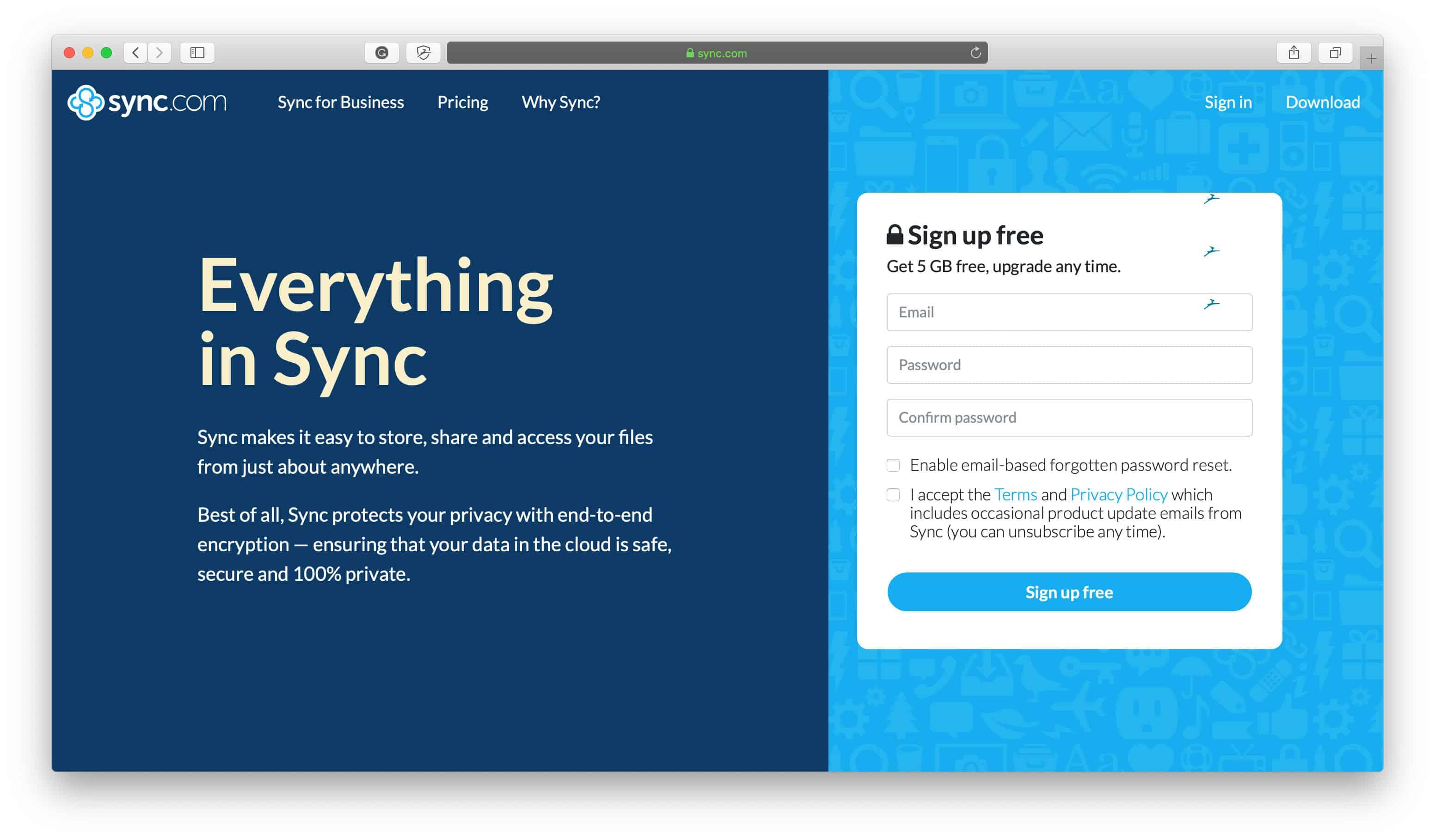 Sync Popular Apps