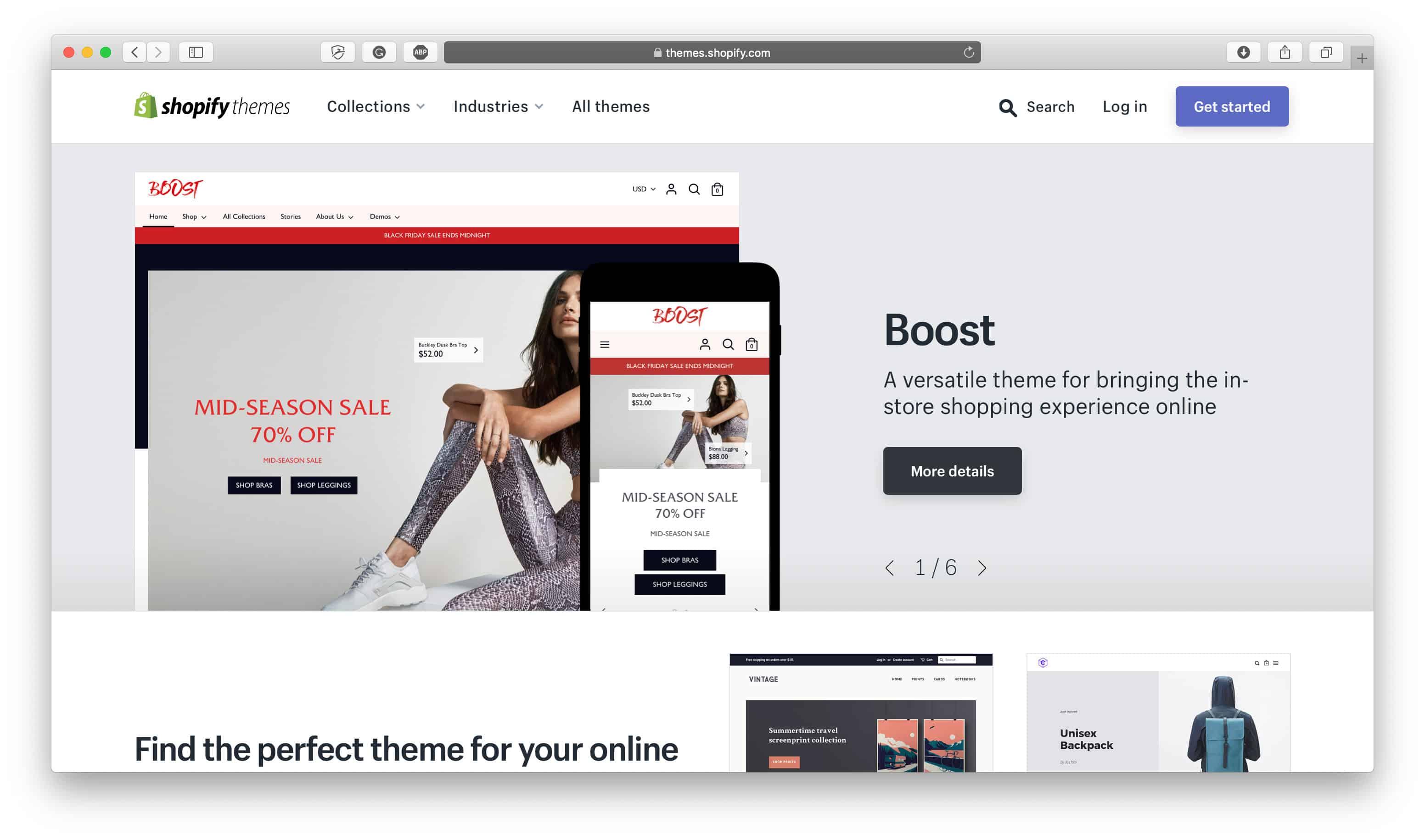 Shopify Theme Store
