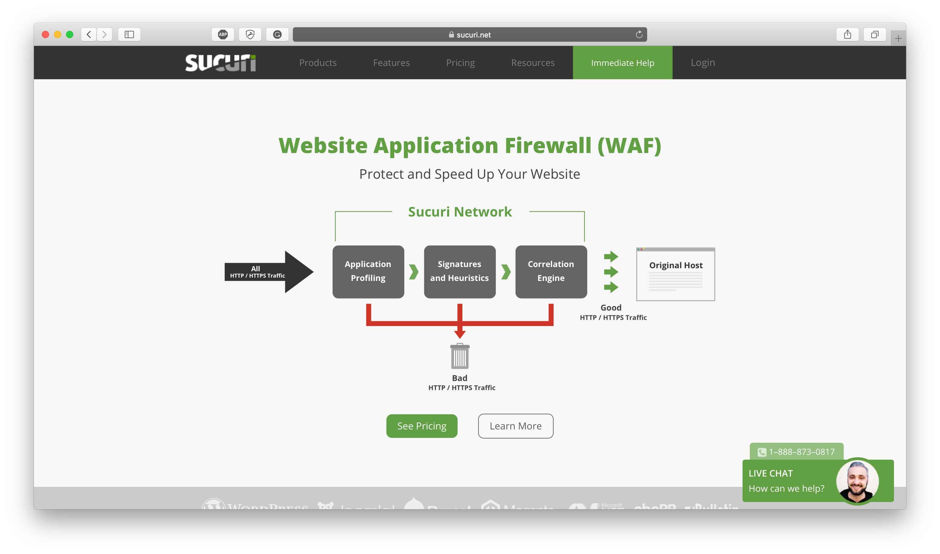 Sucuri Firewall Review