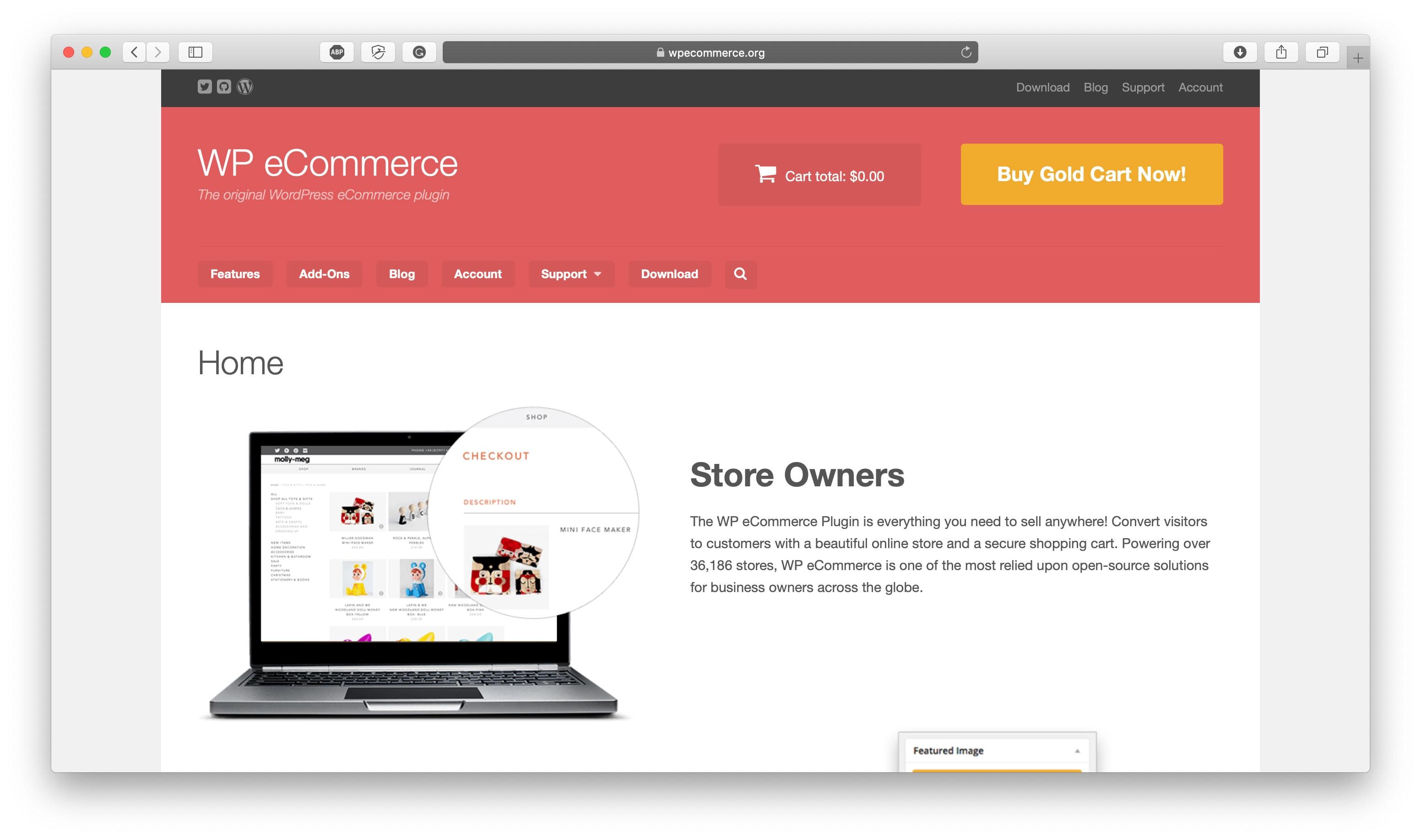 WPECommerce Open Source Platform