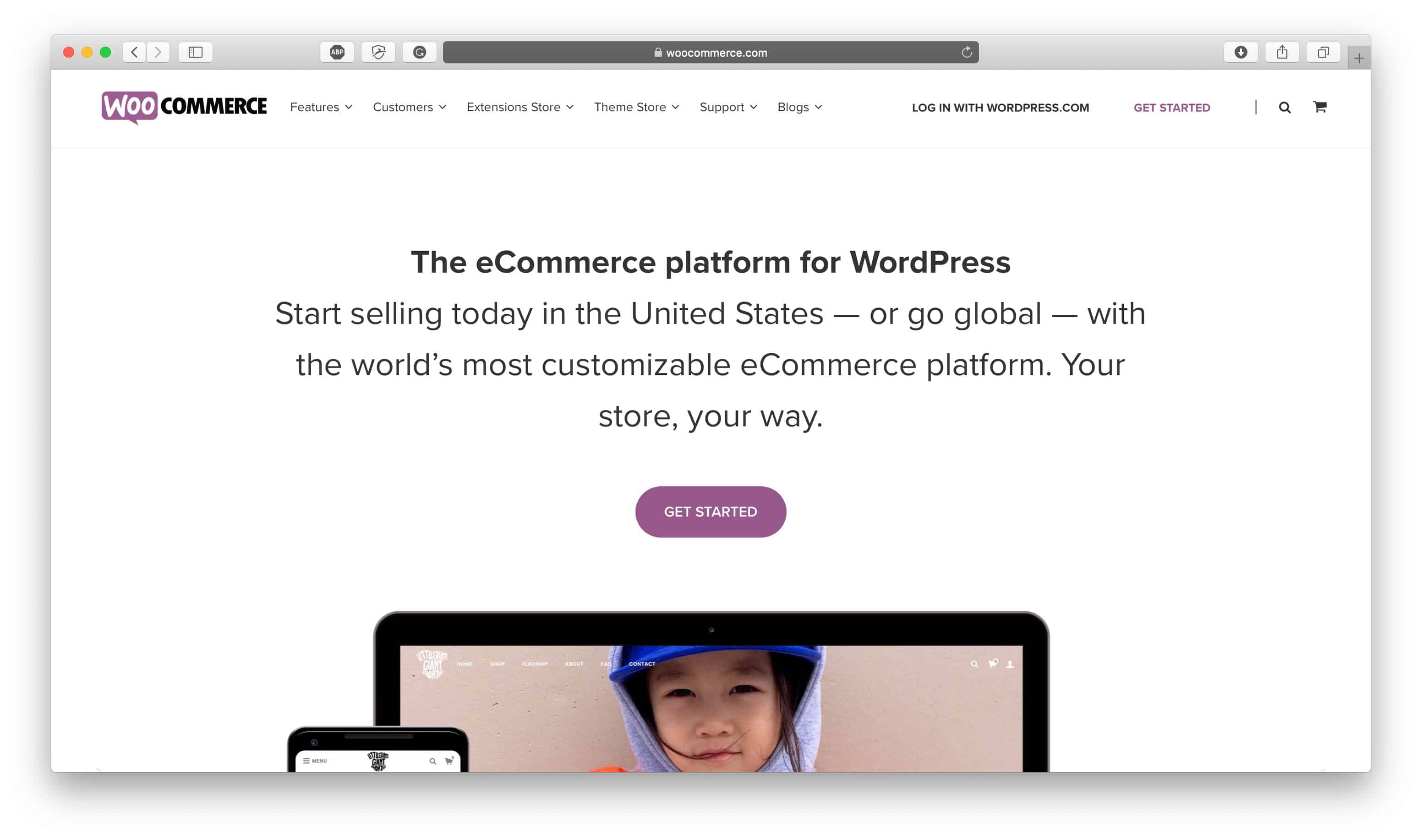 WooCommerce Ecommerce Platform