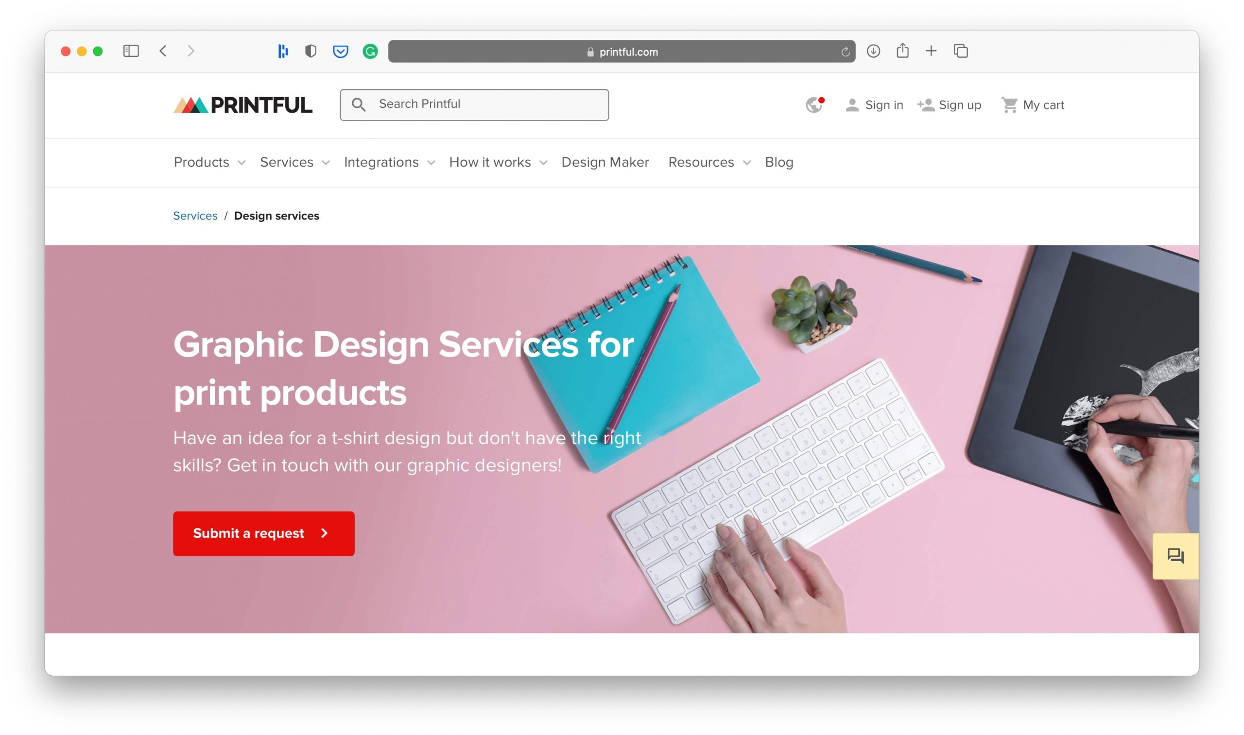 Printful Design Services