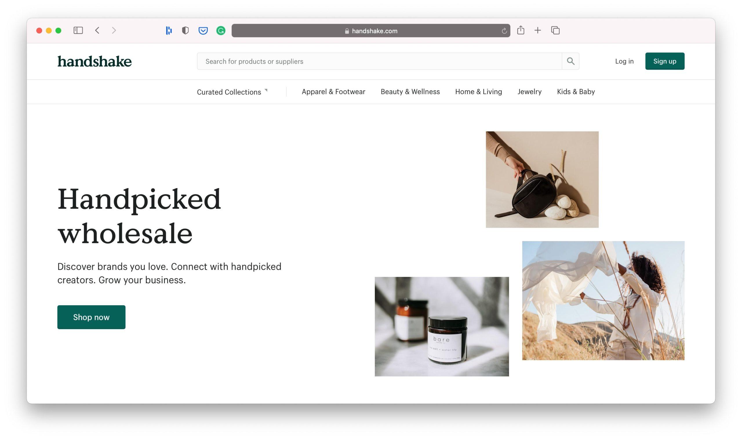 Shopify Handshake Marketplace