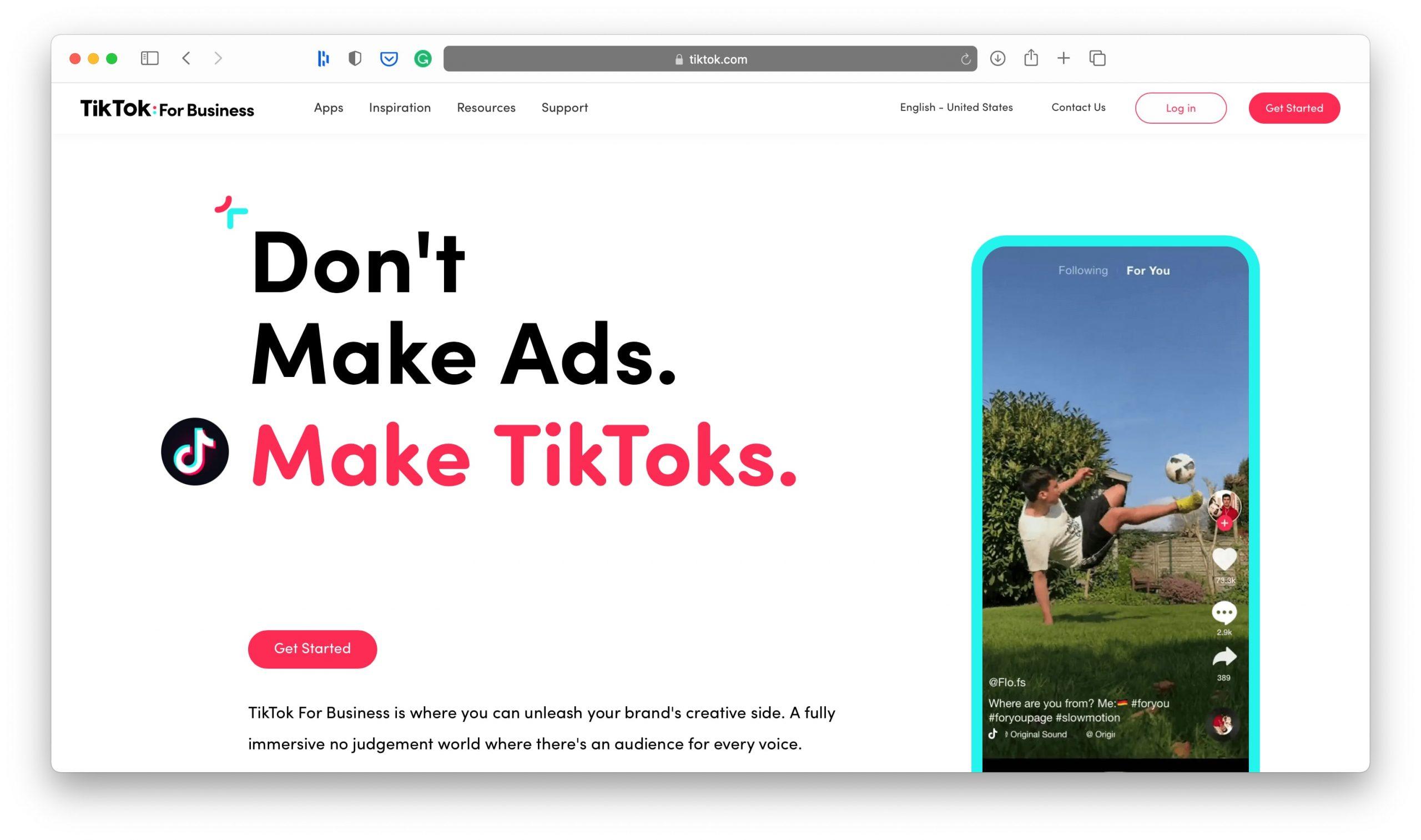 TikTok Social Media Marketing