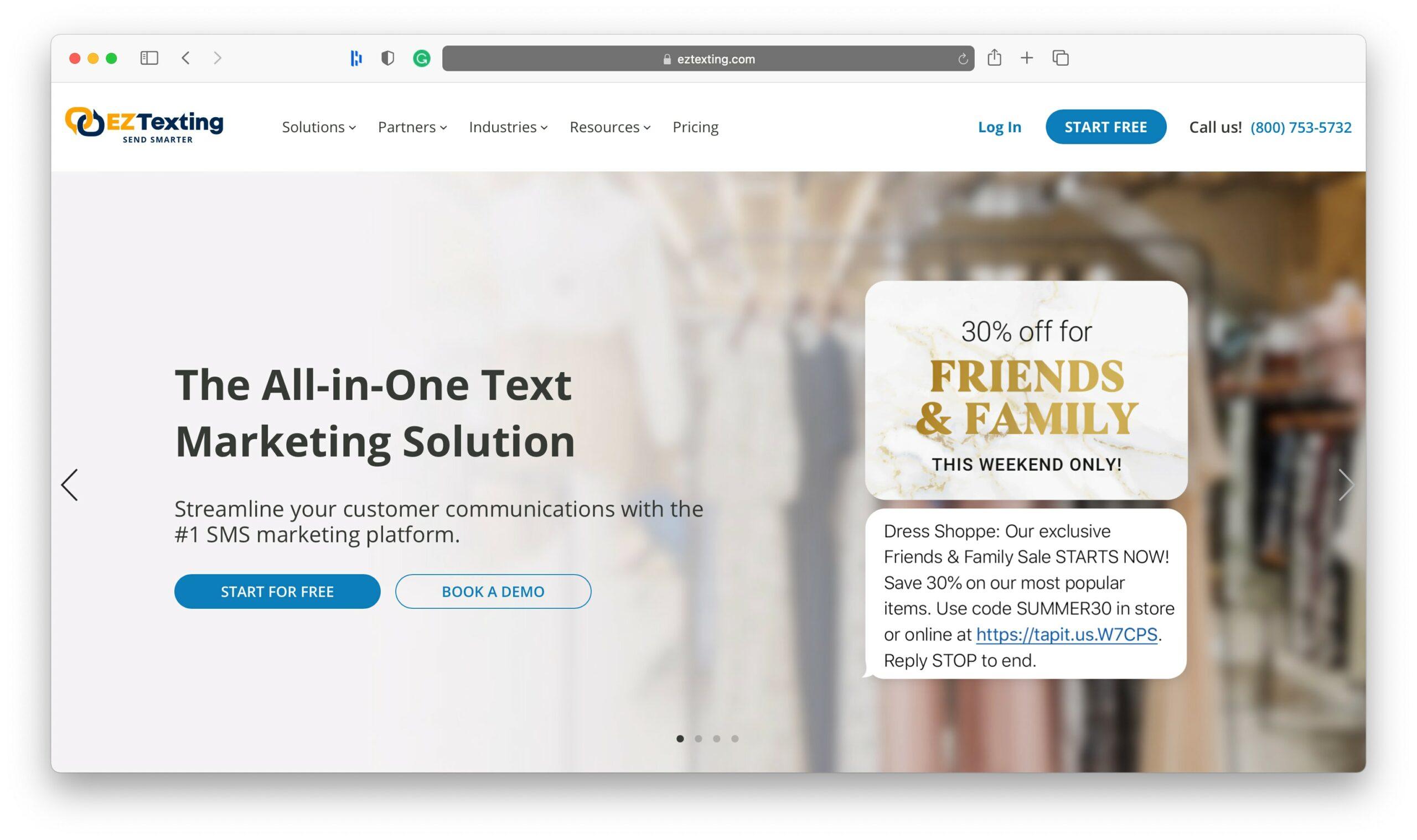 EZ Texting SMS Marketing Tools